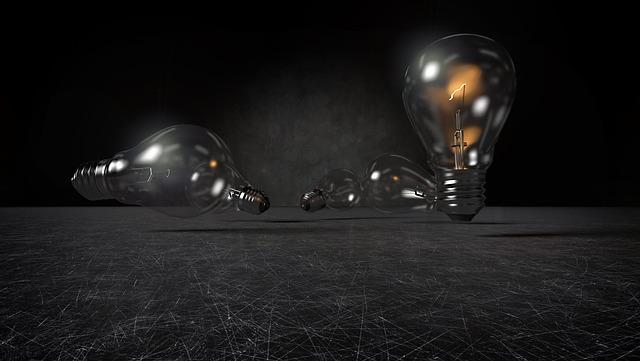 poházené žárovky