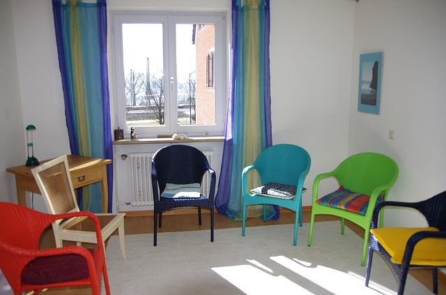 místnost na terapii