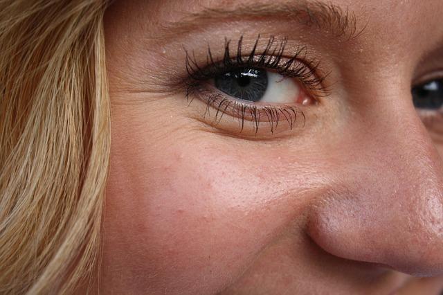 vrásky u očí