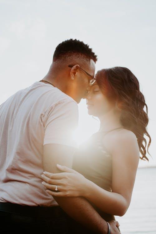 muž a žena, slunc